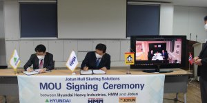 Hyundai Heavy to use Jotun's Hull Skater to protect for newbuilds