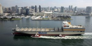 Matson takes delivery of the last ship in Hawaiian Fleet Renewal Program