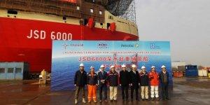China's Shanghai Zhenhua launches JSD 6000 vessel