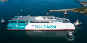 Spanish operator Baleària's LNG ferry starts sea trials