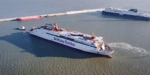 First LNG-powered ferry of UK on her way to Brittany Ferries