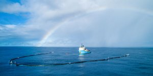 The Ocean Cleanup and Maersk extend their relationship for three more years