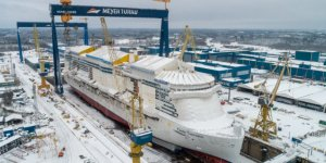 Costa Cruises' 2nd LNG-powered cruise ship touched the sea in Finland