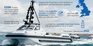 Royal Navy orders three autonomus minesweepers from Atlas Elektronik