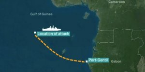 Turkish cargo ship attacked by pirates off the coast Guinea