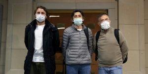 Three Turkish crew members of hijacked cargo ship arrive in Istanbul