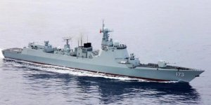 Naval escort taskforces of China holds mission-handover ceremony