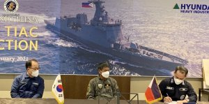 Hyundai Heavy delivers second missile frigate to the Philippine Navy