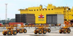 Zvezda Shipyard receives its new crane equipment