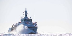Newly launched multipurpose vessel on its way to Gulf of Guinea