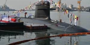 Indian Navy commissions third Scorpene-class submarine INS Karanj