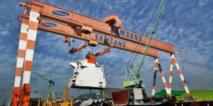 Samsung receives order for five LNG-powered container ships