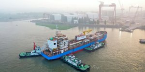 Singapore's first LNG bunkering vessel calls at Singapore LNG terminal
