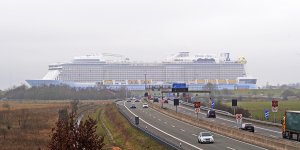 New Odyssey of the Seas of Royal Caribbean starts its sea trials