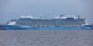 Odyssey of the Seas starts North Sea trials