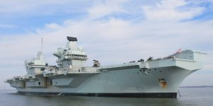 Royal Navy's Flagship HMS Queen Elizabeth visits Scotland for the first time