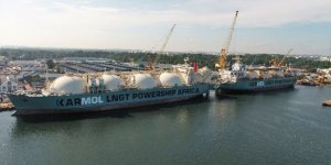 Joint venture between Karpowership and Mitsui OSK Lines starts sea trials