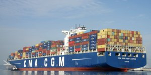 CSSC delivers sixth LNG-powered containership to CMA CGM
