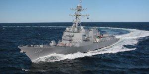 Guided-missile destroyer USS Thomas Hudner departs Black Sea
