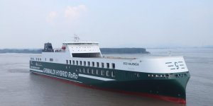 Grimaldi Group's newbuild ro-ro vessel saved 5.1% in fuel consumption