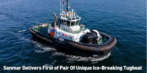 Sanmar Delivers First of Pair Of Unique Ice-Breaking Tugboat