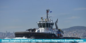 Sanmar Completes Second Of Two Unique Custom-Designed Ice-Breaking Tugboats