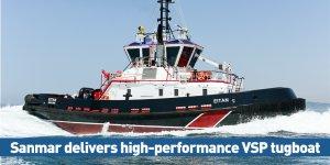 Sanmar delivers high-performance VSP tugboat