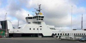 Denmark's super ferry completes her maiden voyage