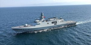 TCG KINALIADA handed over to the Turkish Naval Forces