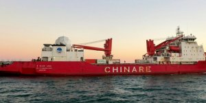 First polar ice-breaker of China starts its maiden voyage
