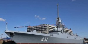 Newest missile frigate of Russian Navy on state trial