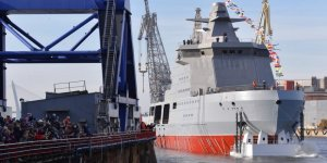 Russia's armed icebreaker has launched