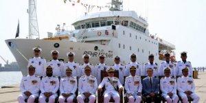 Pakistan Navy commissions research ship Behr Massah