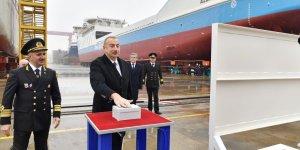 Baku Shipyard launches first homemade shipping vessels