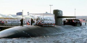 Crew of submarine USS Pittsburgh held an inactivation ceremony