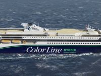 Color line signs loi on the world's largest hybrid vessel