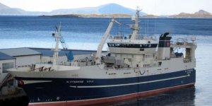 Russian fishing vessel sank in the sea of Okhotsk