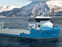 VOLT Service selects Damen's new Utility Vessel 4312 for Norwegian aquaculture operations