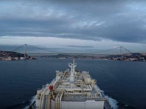 Istanbul (Bosporus) Strait timelapse