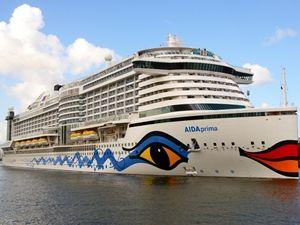AIDAprima Cruise Ship: Full Construction Timelapse