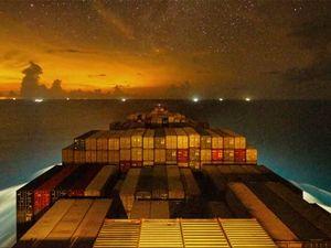 The Gunhilde Maersk - Timelapse